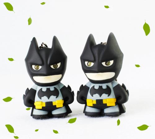 LED Batman Sound Keychain