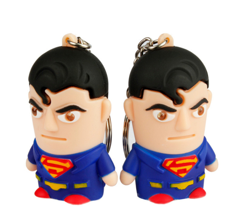 LED Superman Returns Sound Keychain
