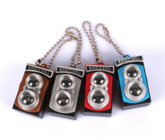 LED Vintage Camera Sound Keychain