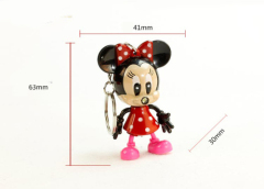 LED Minnie Mouse Sound Keychain