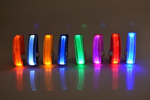 Nylon Flashing LED Armband