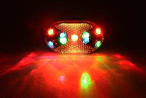 Colorful LED Bike Tail Lights