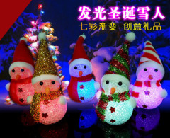 Christmas Snowman Night Light