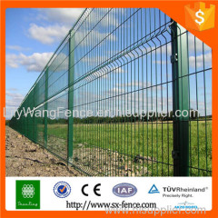 pvc coated steel iron garden fence