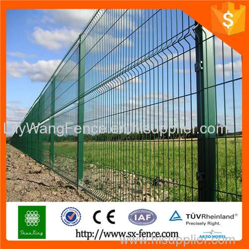 pvc coated steel iron garden fence