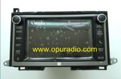 Fujitsu Ten 86107-0T020 86107-0T030 86107-0T011 86107-0T012 Radio E7042 E7038 HDD Navigation Media MAP voice APPS