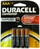 Duracell Duralock 4pcs blister card pack MN2400 LR03 AAA alkaline battery