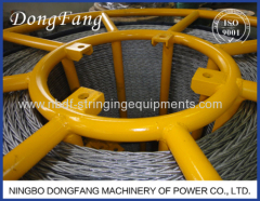 20MM Anti Twist Pilot Steel Wire Rope for Three or Four bundled conductors stringing
