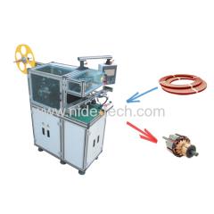 Armature wedge inserting machine