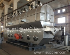 Changzhou Fanqun Zlg6*0.75 Vibration Fluid Bed Dryer