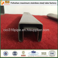 Hotsale Products 316 Stainless Steel Grooved Tube/Steel Tube Square