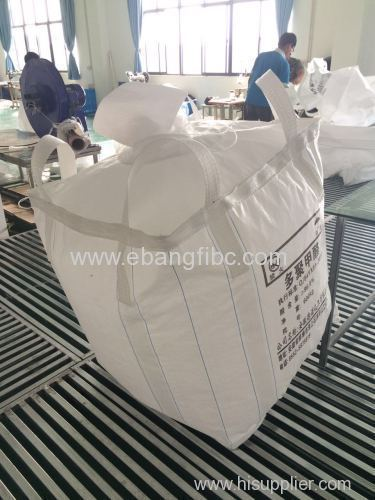Square Bulk Bags for Packing China Clay