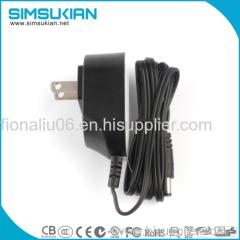 UL62368 standard Americal plug ac dc adaptor