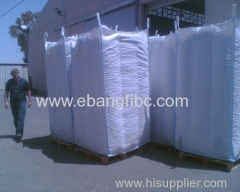 FIBC Big Bag with baffle for Calcium Aluminate