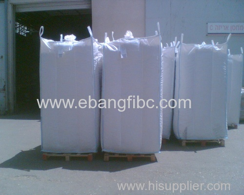 White Color Jumbo Bags with Internal Baffles