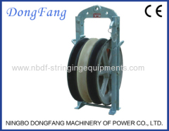508MM Overhead Transmission Line Cable Stringing Blocks with Nylon or Aluminum sheaves