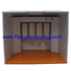 Walk in Tipo Powder Spray Booth