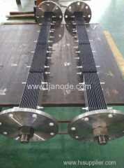 MMO Coated Titanium Anodes Used in Electrochlorination