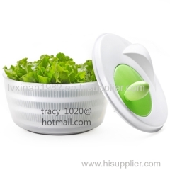 vegetable spinner salad spinner plastic dewatering kitchen gadgets