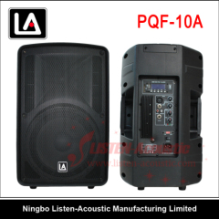 10 inch ABS 2-way active speaker cabinet