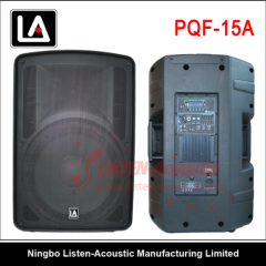 15 inch Professional ABS 2-way active speaker box