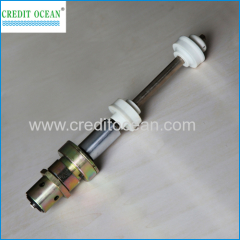 Spindles for covering machine