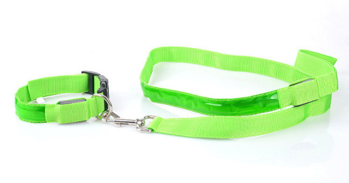 LED Dog Collar & Leash sets