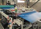 PVC Corrugated Roof Panel Roll Forming Machine With Round / Trapezoidal Shape