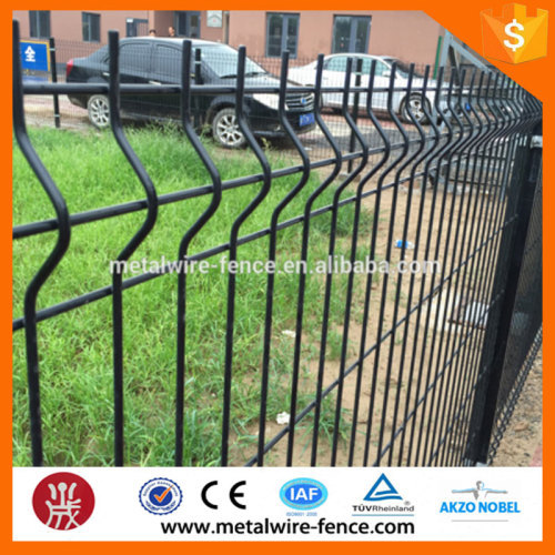 Grilles nylofor 3d hook style retactable bending fencing used for garden