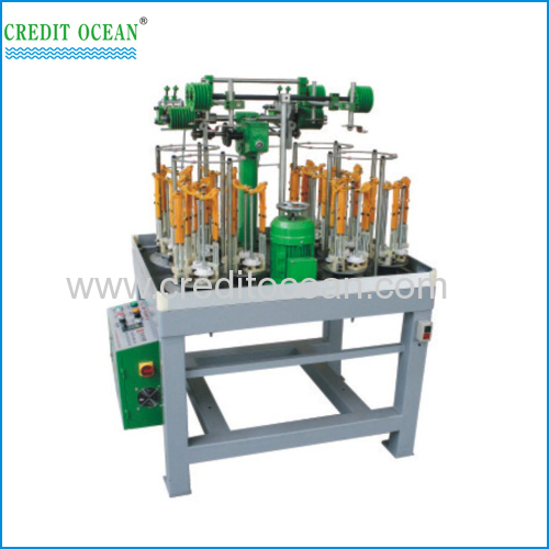 Three strands twisted rope braiding machine