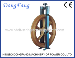 Overhead Transmission Line OPGW Stringing Blocks