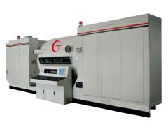 plastic film coiling vacuüm coating machine
