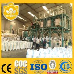 scale corn mill maize milling machine with good quality for sale