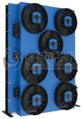 Oil Saving Electric Drive Engine Cooling System for Construction Machinery