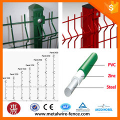 Europe Hot Sale Powder Coated 3D Folding Wire Mesh Fence