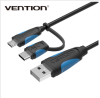 Vention Newest Android Data Charger Cable With Type C Adapter
