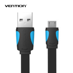 Mobile Phone Cable Flat Micro USB Cable 0.25m/0.5m/1m/1.5m/2m Data Sync Charger Cable for Android