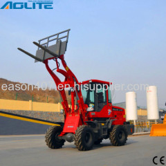 Compact Mini Loader Articulated Front Loader Mini for Sale