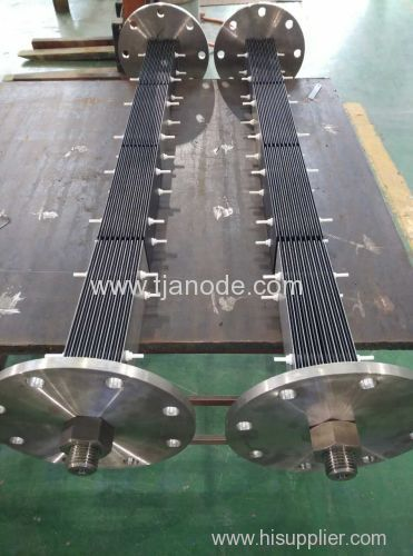 MMO Coated Titanium Anodes for Electrochlorination Electrolyzer