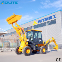 4X4 Compact Tractor Backhoe with Loader Quick Hitch in China