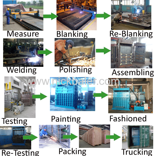Waste Metal Baling Machine  scrap recycling Balers  Baler Applied In Steel Mills  Balers Machines