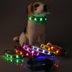 LED Reflect Light Dog Colla