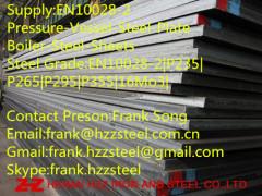 EN10028-2 P295 pressure vessel steel plate