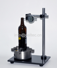 Bottle perpendicularity coaxiality tester Bottle tester