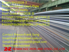 EN10028-3 P275NH pressure vessel steel plate
