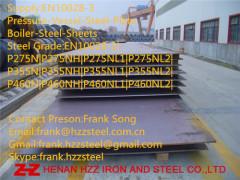 EN10028-3 P355NL2 pressure vessel steel plate
