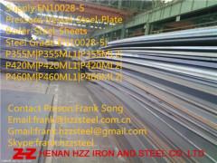 EN10028-5 P355ML2 pressure vessel steel plate