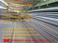 EN10028-5 P420ML1 pressure vessel steel plate