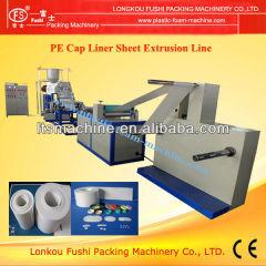 Plastic Cap PE Micro rivestimento in schiuma Foglio linea di estrusione
