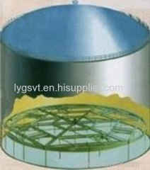 Chemical and oil storage tank assembling aluminum and stainless steel Internal Floating Roof